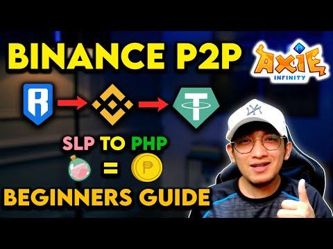 SLP TO PHP - BINANCE P2P | FULL VIDEO TUTORIAL | TAGALOG