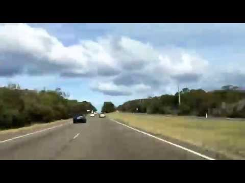 Sydney to Wollongong - Timelapse