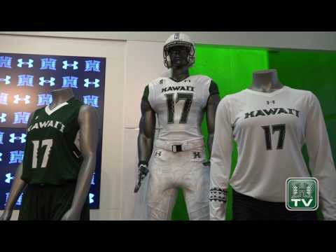Under Armour, Hawaii Athletics Press Conference