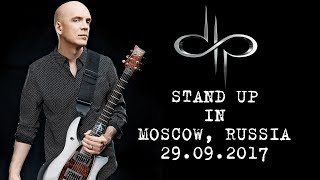 Devin Townsend - Stand Up in Moscow, Russia, 29.09.2017