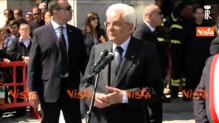 MATTARELLA IN FRIULI: LA RICOSTRUZIONE DOPO IL TERREMOTO GRANDE TESTIMONIANZA