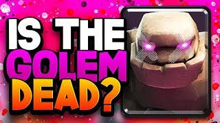 "Is GOLEM a DEAD Card? Golem GOD: ""Not in THIS DECK!"""