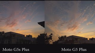 Moto G5s Plus vs Moto G5 Plus Camera Comparison