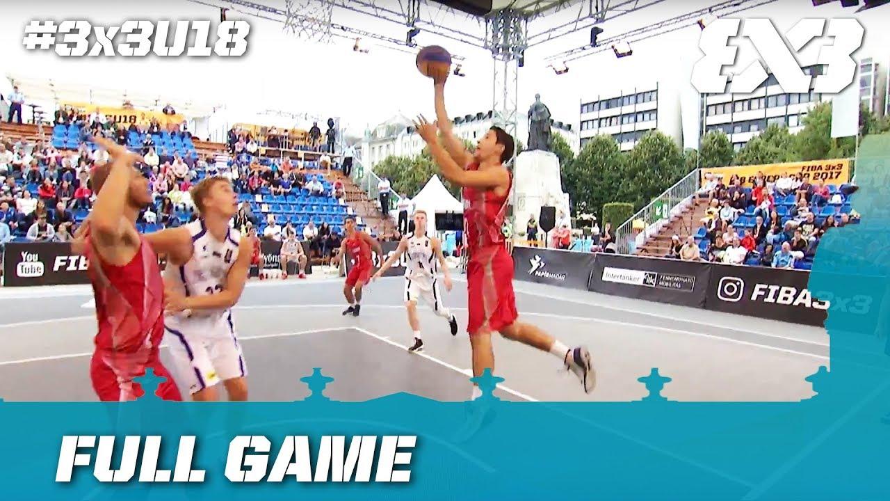 Estonia vs Hungary | Full Game | FIBA 3x3 U18 Europe Cup 2017 - YouTube