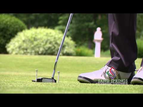 "Chuck Jumpeter's Golf Tips ""Putt it from the sweet spot"""