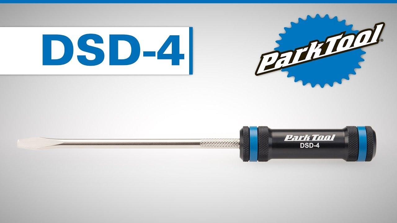Park Tool DSD-4 Professional 5mm Flat Blade Bicycle Derailleur Screwdriver