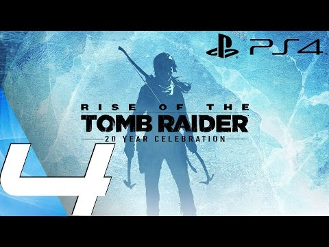 Rise of The Tomb Raider (PS4) - Gameplay Walkthrough Part 4 - Old Copper Mine
