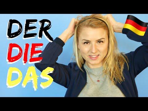 DER, DIE oder DAS? Regeln für Artikel │Perfektes Deutsch lernen