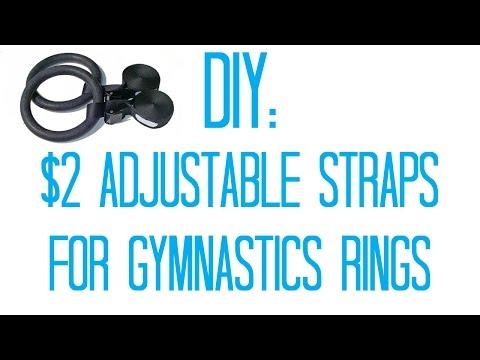 DIY Adjustable Straps for Gymnastics Rings (for $2)