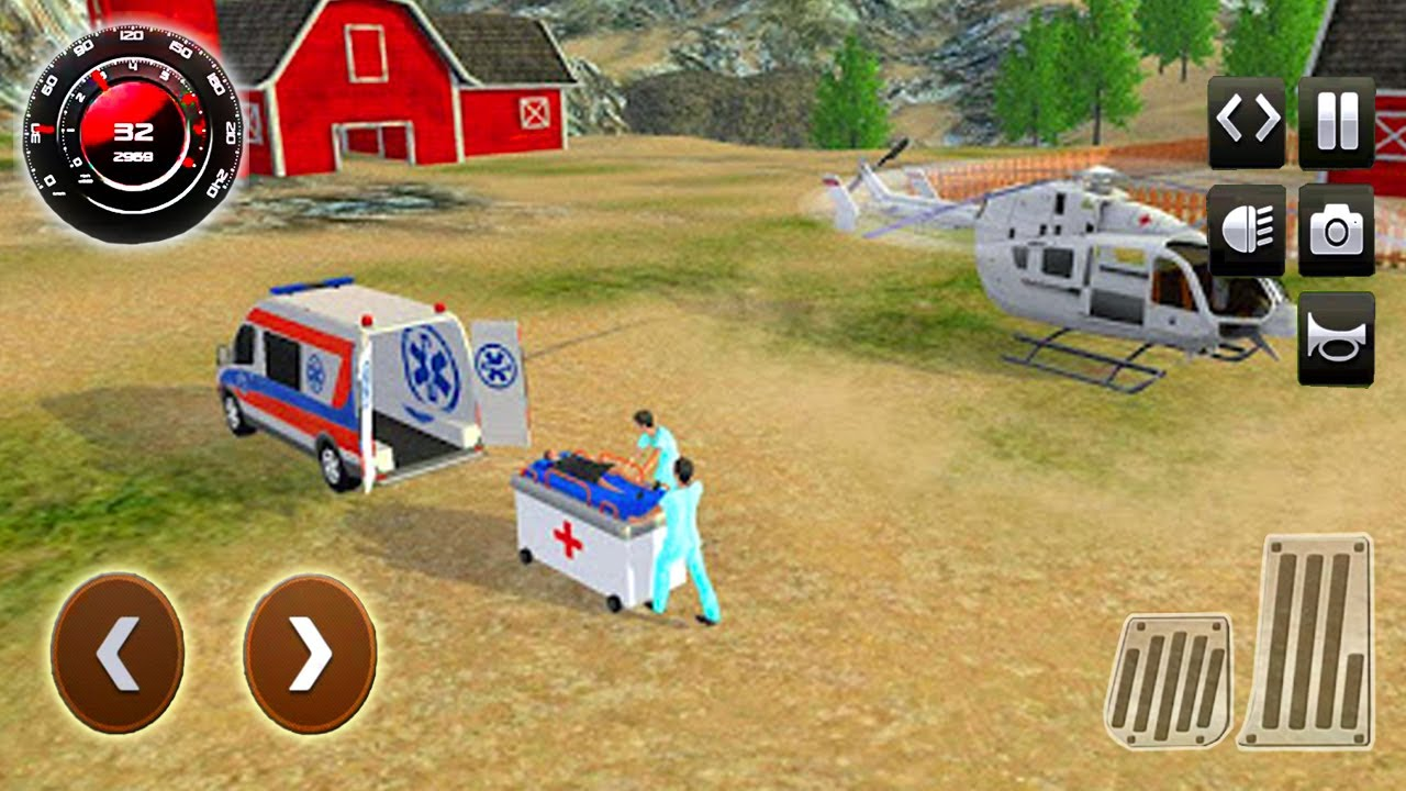 Ambulance & Helikopter Heroes Game - Mobil Mobilan Ambulans Penyelamat - Android Gameplay
