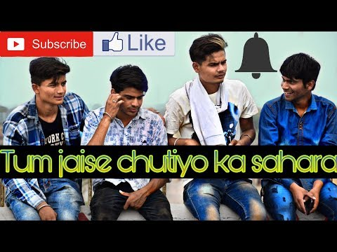 Tum Jaise Chutiyo Ka Sahara Hai Dosto | Rajeev Raja | True Friendship Story | Friends Anthem