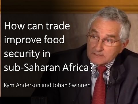 How can trade improve food security in sub-Saharan Africa?