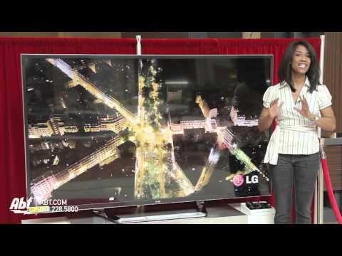 LG 4K 84-inch Ultra HD 3D LED HDTV: Abt Electronics