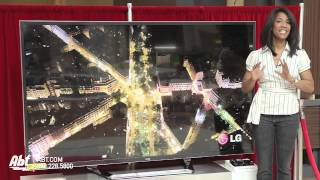 LG 4K 84-inch Ultra HD 3D LED HDTV: Abt Electronics