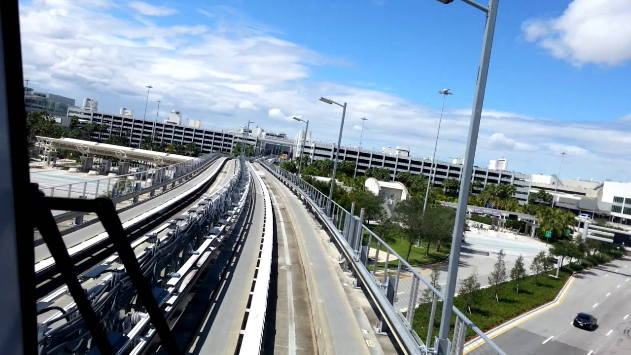 MIAmover Metrorail Station Rental Car Center To Airport Miami - International car center