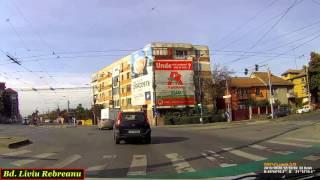 Driving in Timişoara:  Ciarda Roşie - Mehala (Timelapse 2x)