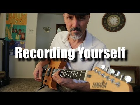 Recording Yourself - Tech Talk - Getting Started