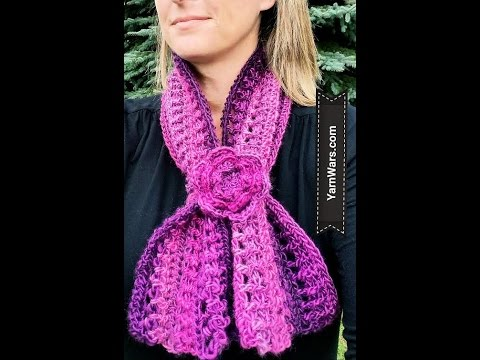 The Venetian Scarf or Cowl Free Crochet Pattern