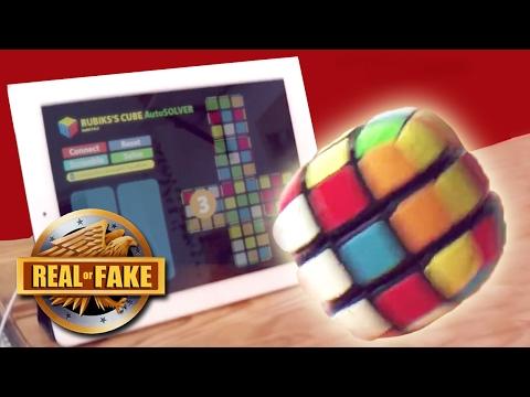 NEW RUBIK'S CUBE RUNS OFF IPHONE - real or fake?