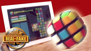 NEW RUBIK'S CUBE RUNS OFF IPHONE - real or fake?