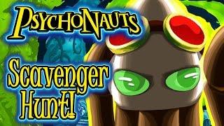 KatFTWynn: Psychonauts ~Scavenger Hunt Items~