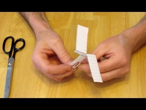How To Make A Paper Helicopter Simple And Easy Youtube