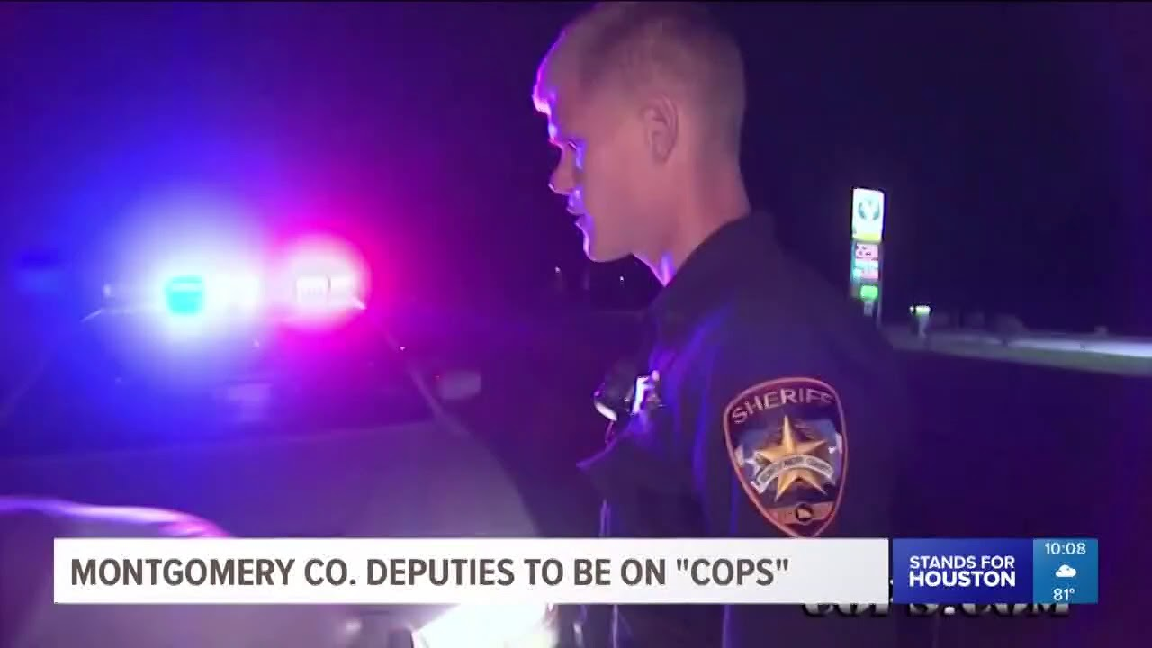 Montgomery County Sheriff's Office will be featured on 'COPS'