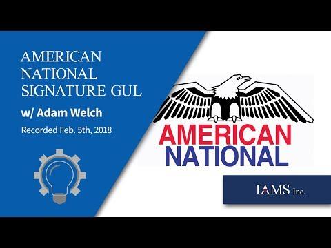 American National  Signature GUL NEW Xpress Plus underwriting