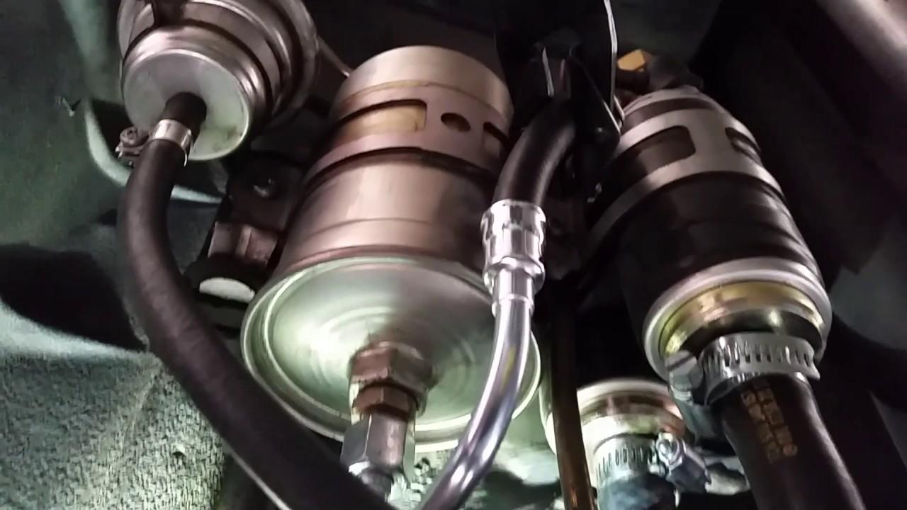 Mercedes 300e Fuel Filter Failure Youtube Benz Location