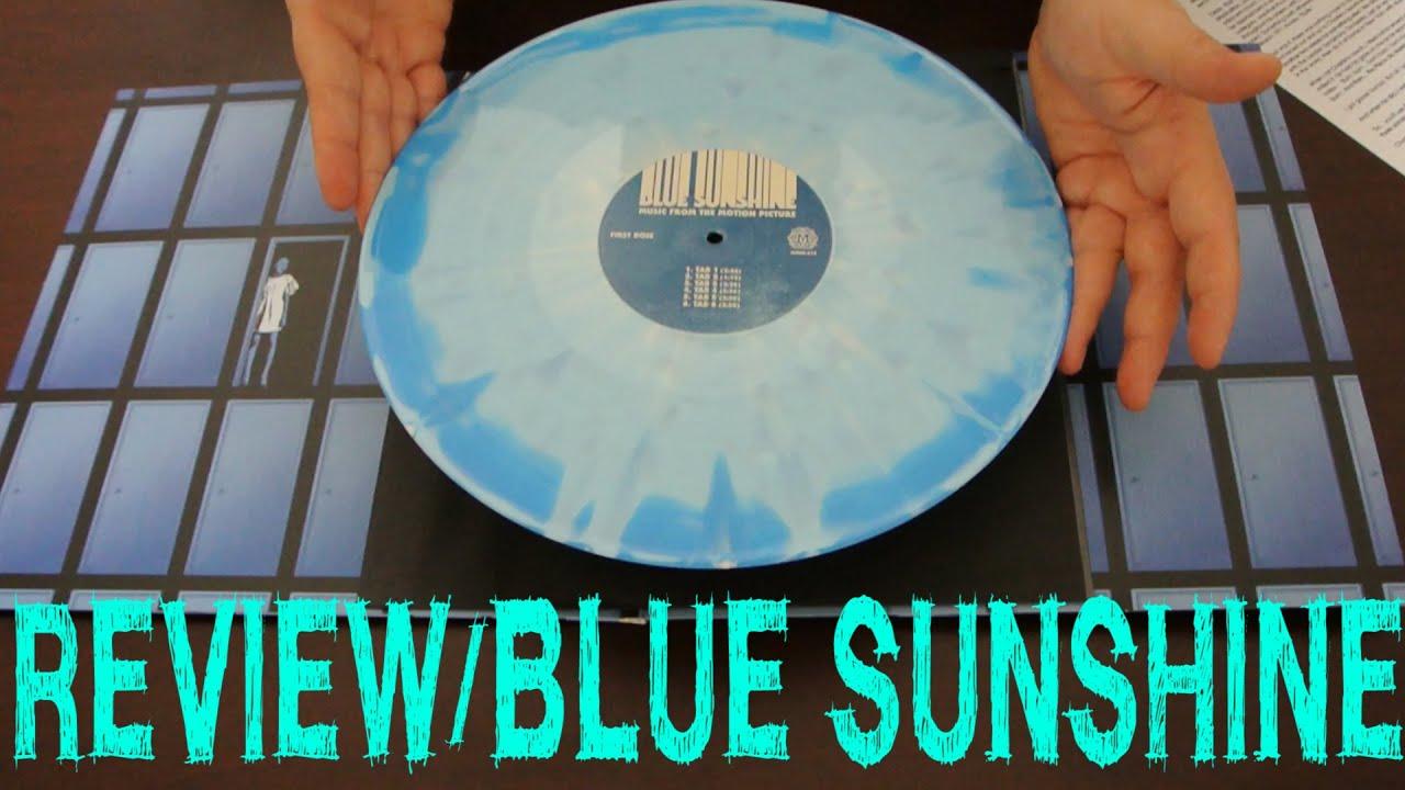 BLUE SUNSHINE Soundtrack / OST Blue Iris Vinyl LP MONDO Review limted  Charles Gross 200 pieces