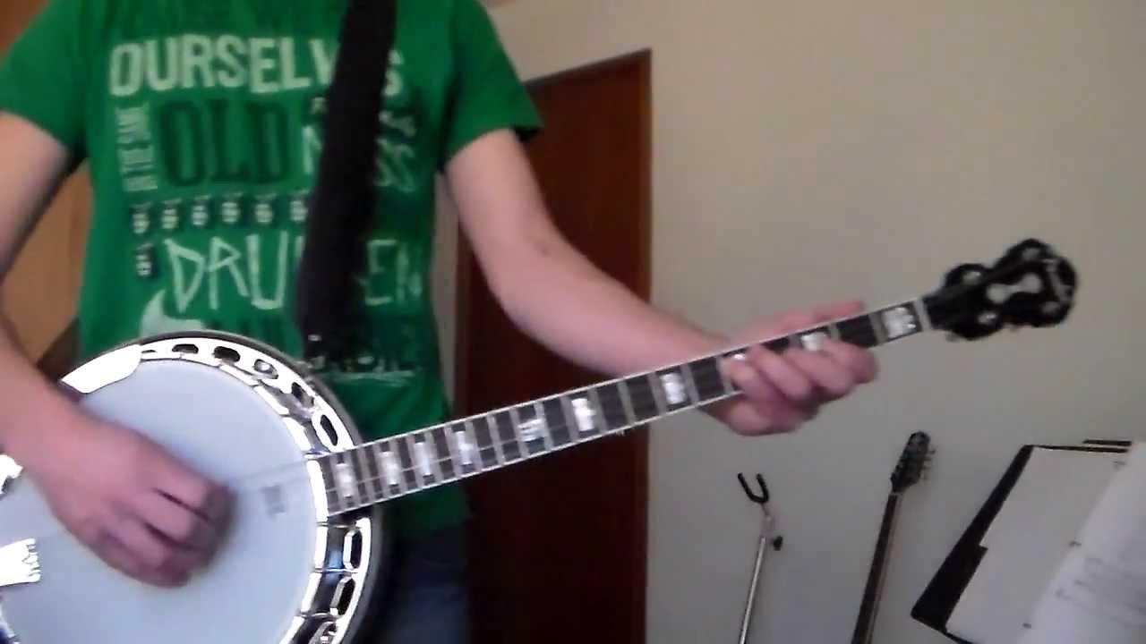 Drunken Lullabies - Flogging Molly (Tenor Banjo Cover) - YouTube