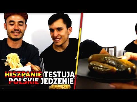SPANISH PEOPLE TASTE POLISH FOOD / HISZPANIE PRÓBUJĄ POLSKIEGO JEDZENIA