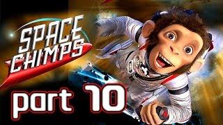 Space Chimps Walkthrough Part 10 (Xbox 360, PS2, Wii, PC) ~ 100% ~ Level 10