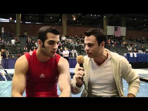 David Durante and Danell Leyva - 2011 Winter Cup Interview