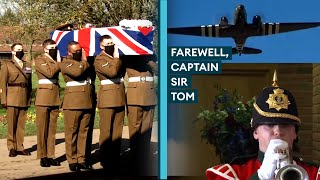 Farewell, Captain Sir Tom Moore: Military Funeral Held For Record-Breaking Fundraiser