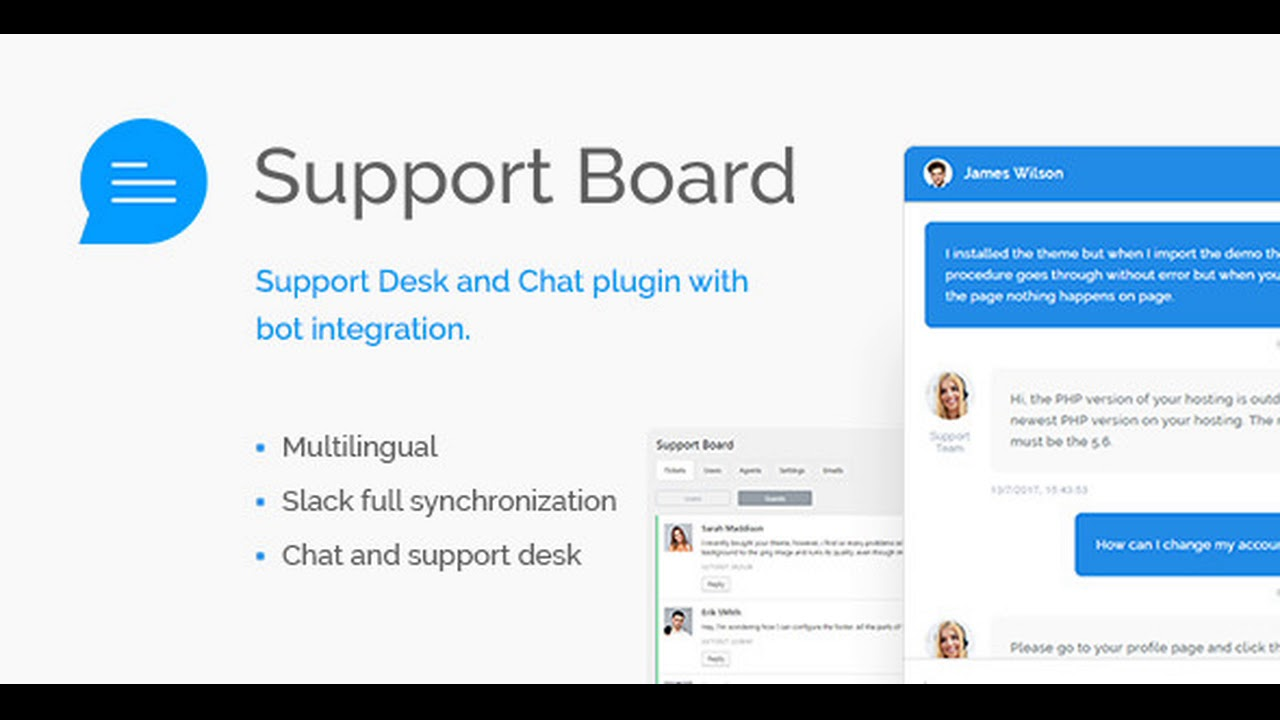 Support Board – Chat And Help Desk | Support & Chat Nulled