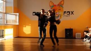 Выступление на открытом уроке по парным танцам Хастл. Dance Fox г. Кемерово