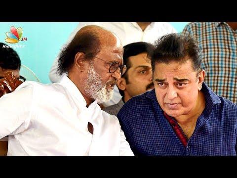Kamal, Rajinikanth break silence & talk for First Time! | Latest Tamil Cinema News