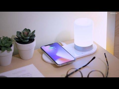 Lxory LED Lamp + Wireless Charging Pad