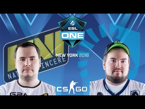 ESL One New York 2016 - Natus Vincere vs. Team Liquid (Mirage) - Narração PT-BR