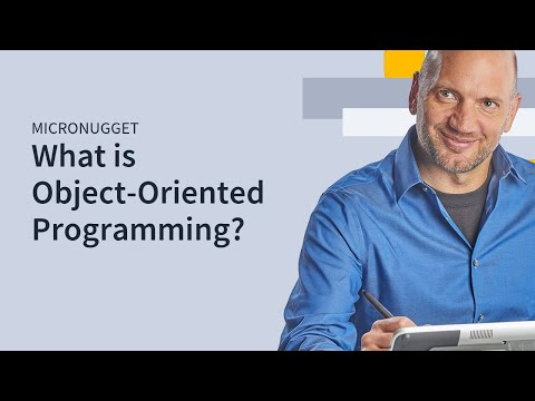 MicroNugget: What is OOP? (Object-Oriented Programming)
