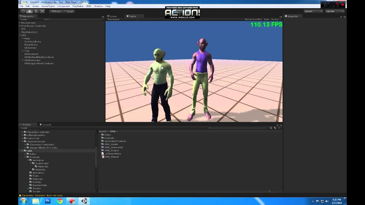 Movement Animset Pro on UMA characters | Unity Asset Store