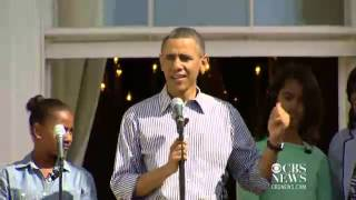Obama family kicks off 2013 Easter Egg Roll