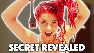 THE SECRET TO GETTING MY HAIR THE PERFECT RED !!!