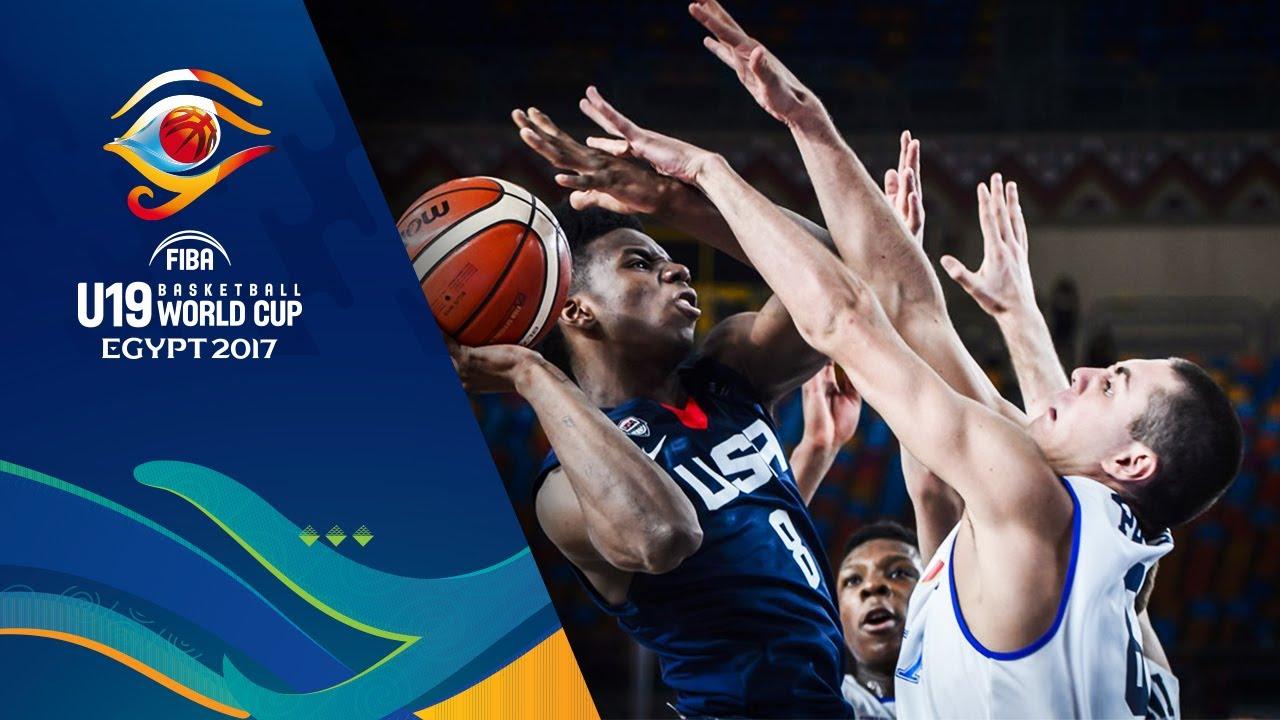 Italy v USA - Highlights - FIBA U19 Basketball World Cup 2017