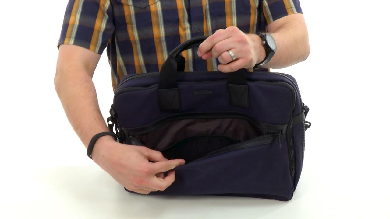 Michael Kors Parker Ballistic Nylon Large Briefcase SKU:8617544