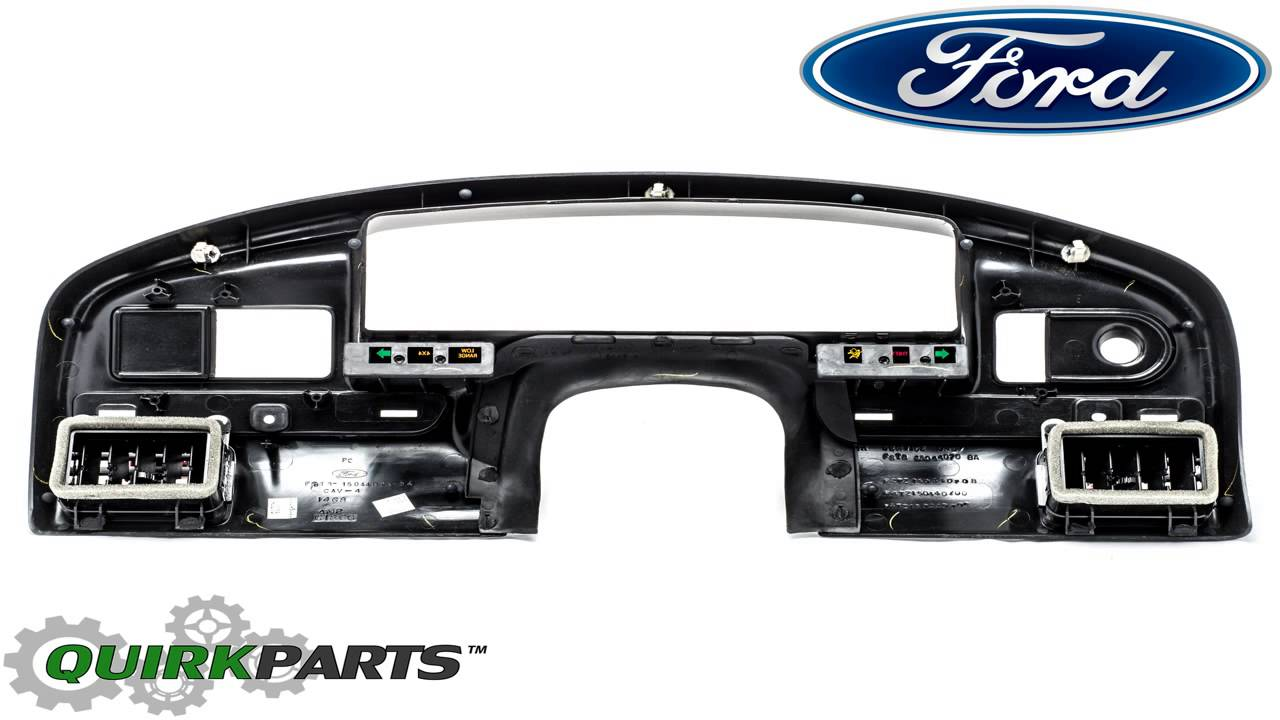 Ford f4tz 15044d70 a panel instrument