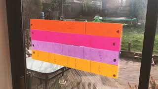 Fractions wall - Mrs Holdstock Teaching and Learning ideas