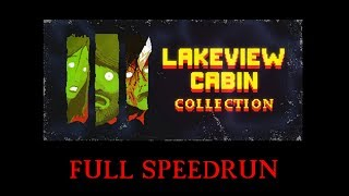 Lakeview Cabin Collection Full Speedrun in 3939;3539;39;0239;39;39;