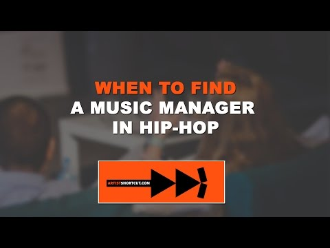 When To Find A Music Manager